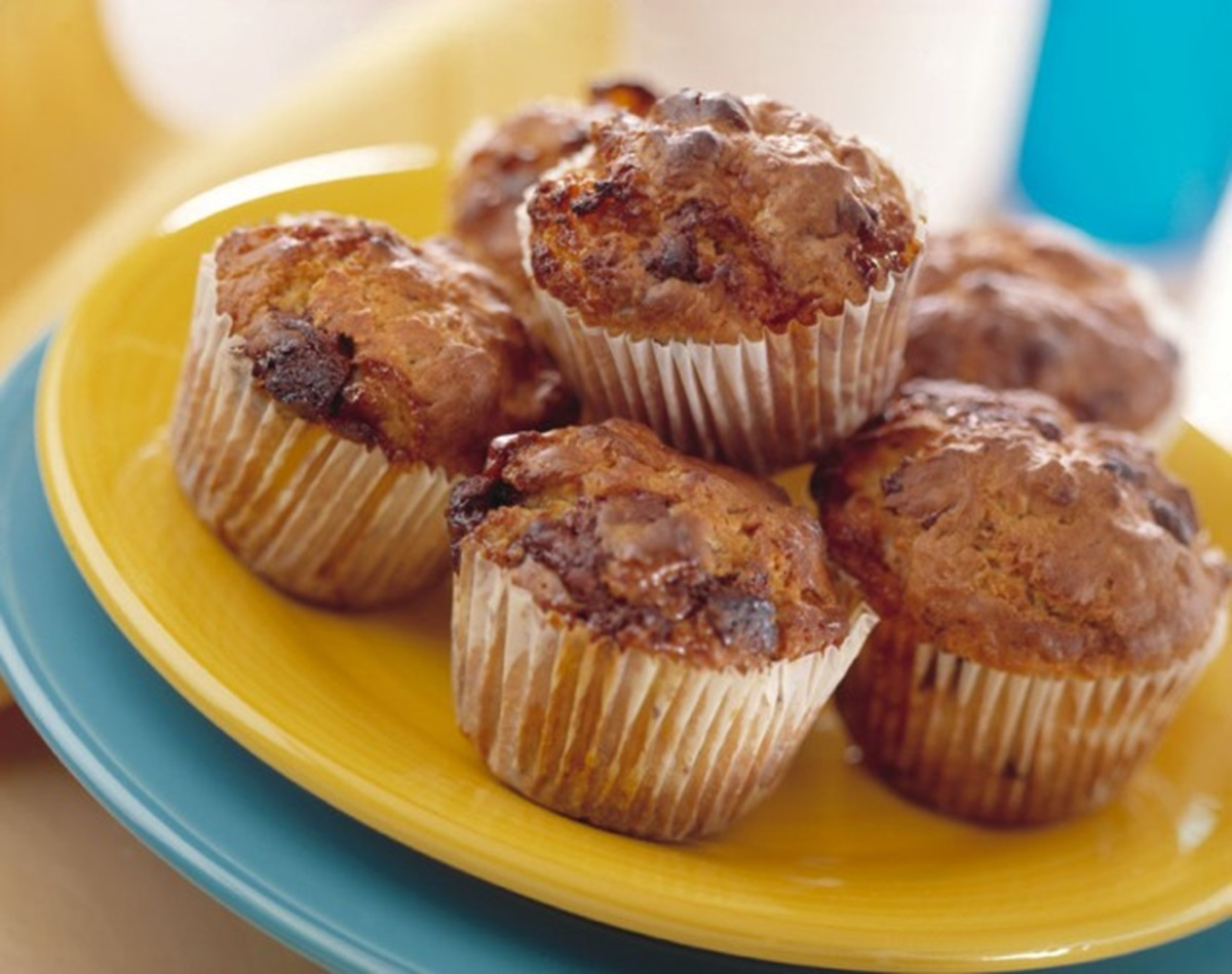 recipe image Chocolate & Marshmallow Muffins