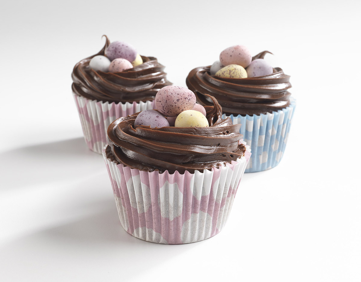 recipe image Easter Chocolate Cupcakes