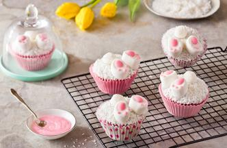 recipe image Easter Bunny Cupcakes