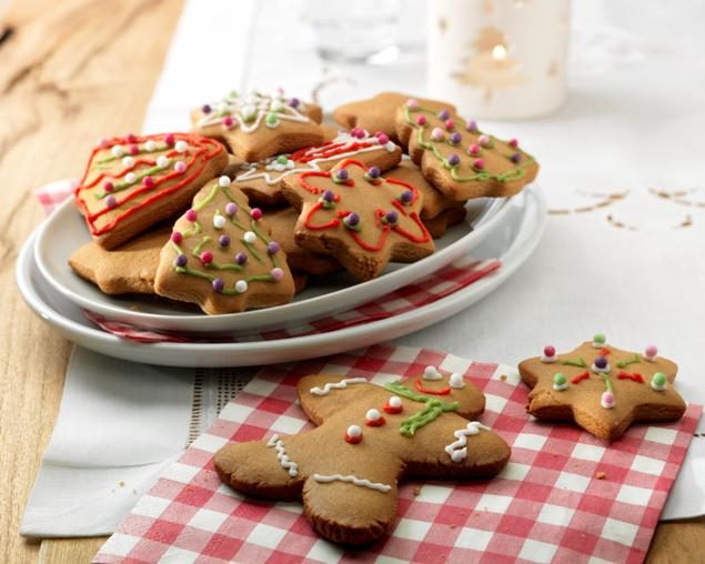 recipe image Christmas Ginger Biscuits