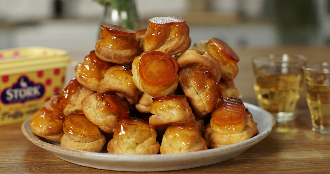 recipe image Ruby's Attack The Profiterole Stack