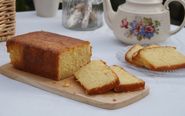 recipe image Coconut & Lime Drizzle Cake