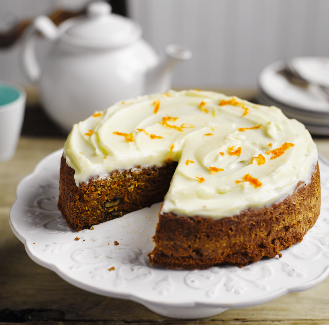 recipe image Carrot Cake with Cream Cheese Icing