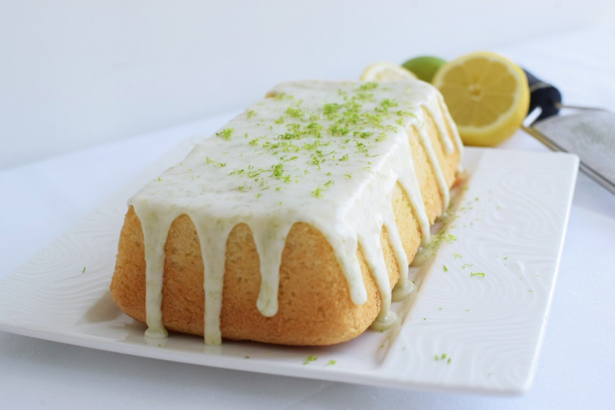 recipe image Vegan lemon & lime loaf cake