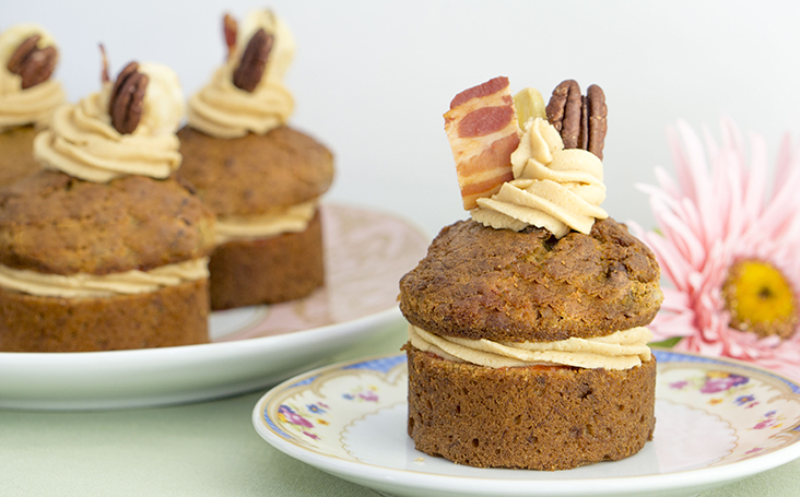 recipe image The Elvis Mini Banana Sandwich Cake Recipe