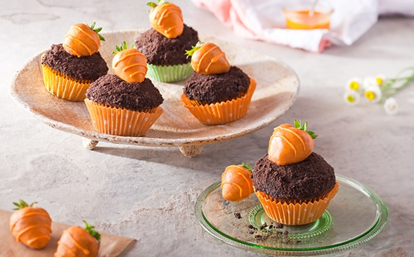 recipe image Easter Carrot Cupcakes