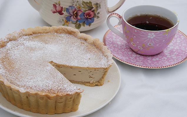 recipe image Earl Grey Custard Tart