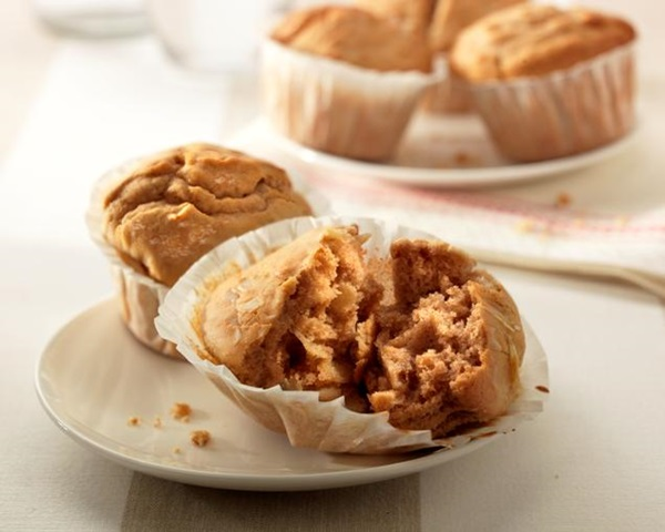 recipe image Banana Almond Muffins