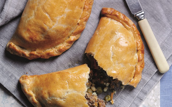 recipe image Spiced Lamb Pasties