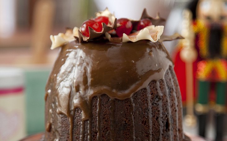 recipe image Sticky Toffee Christmas Pudding