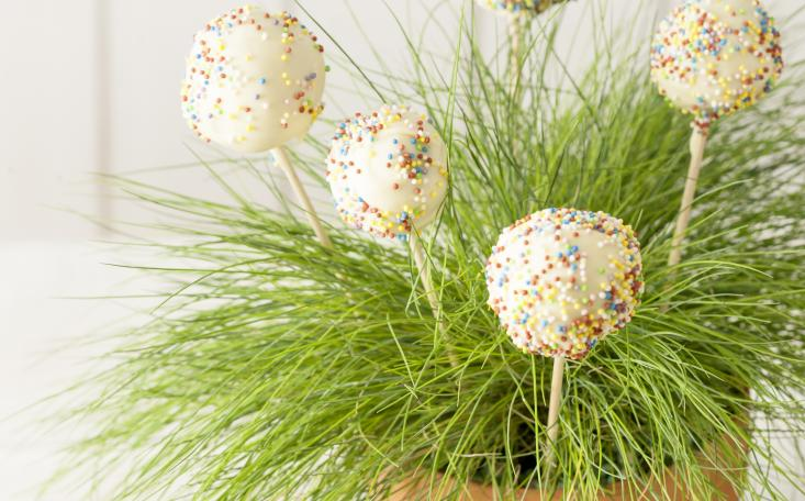 recipe image Easter Cake Pops