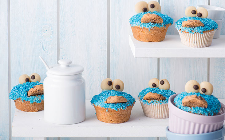 recipe image Blue Monster Muffins