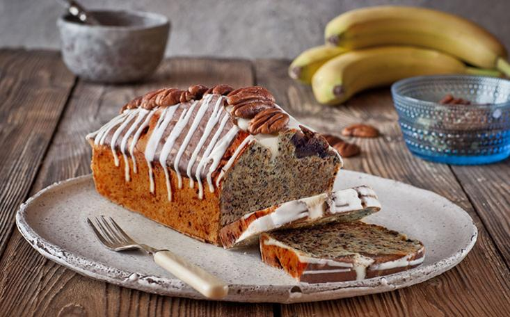 recipe image Banana Cake With Chocolate