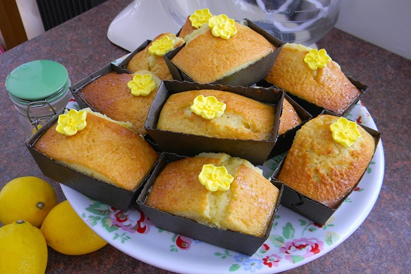 recipe image Carmela's Lemon Loafs