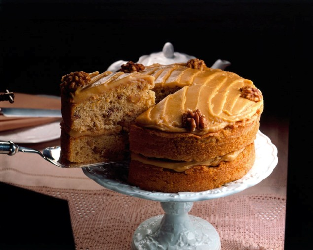 recipe image Coffee Walnut Cake