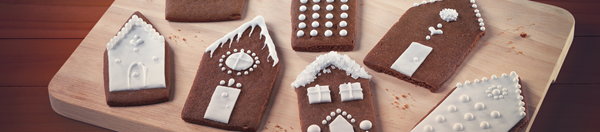 recipe image Gingerbread Houses