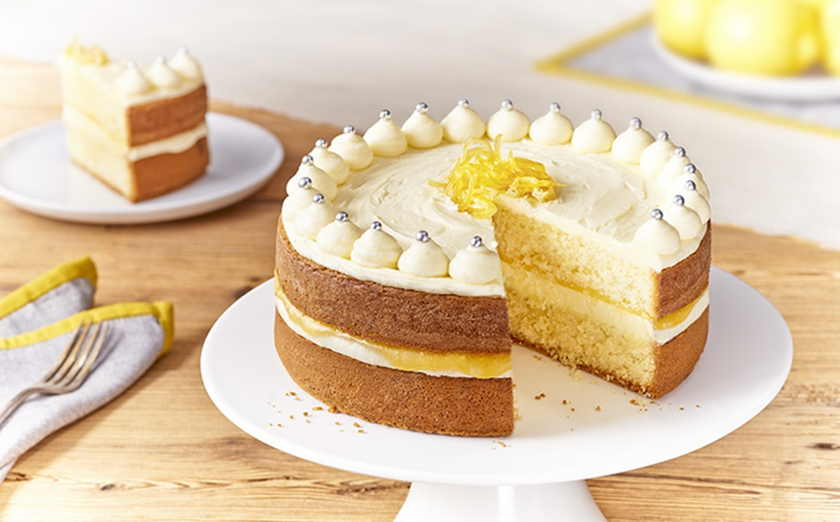 recipe image Zesty Lemon Celebration Cake