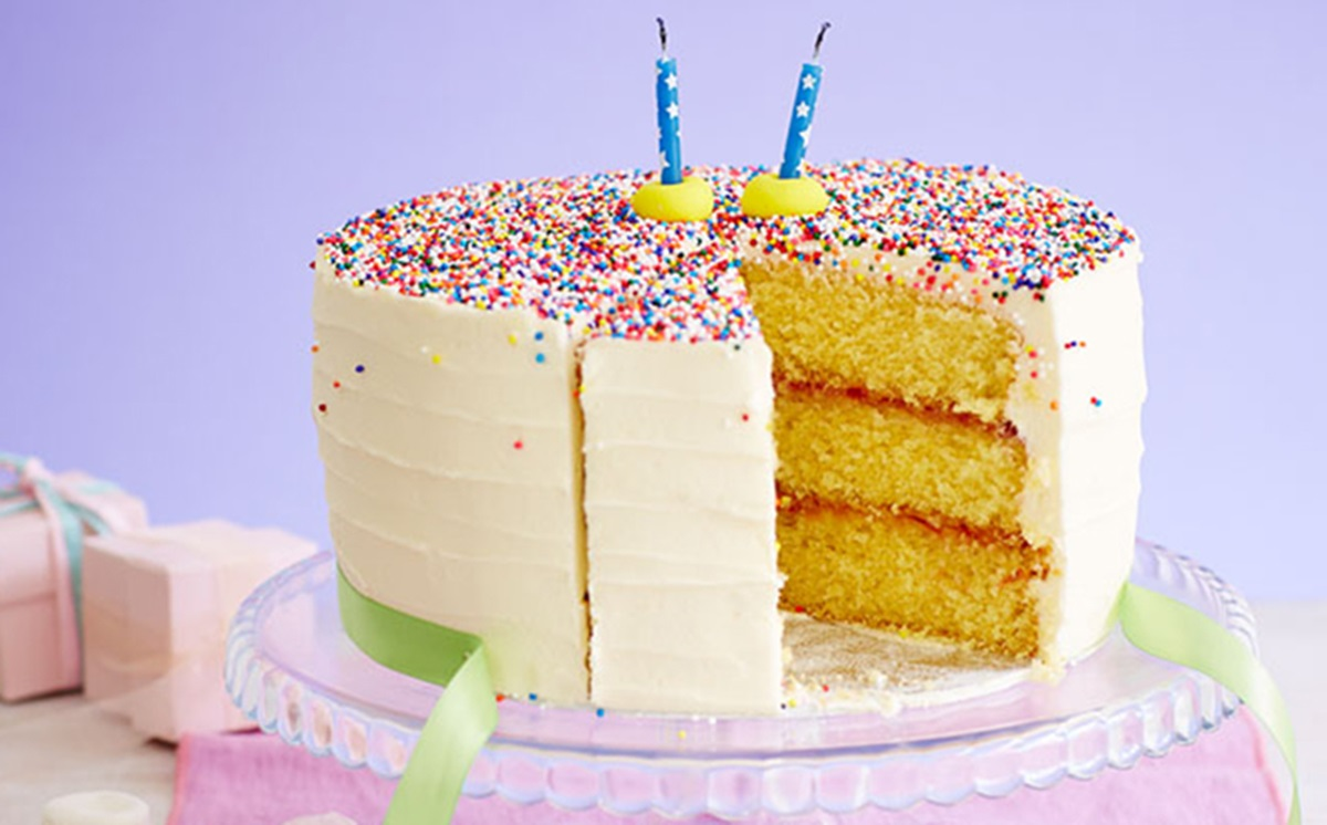 recipe image Birthday Sprinkles Cake
