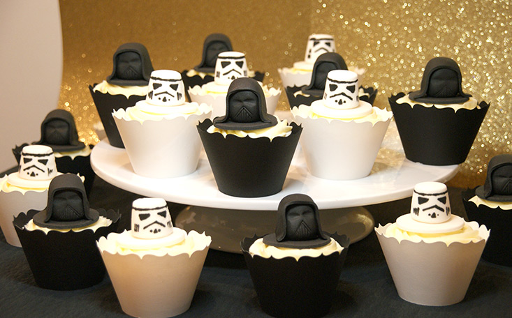 recipe image Star Wars Cupcakes
