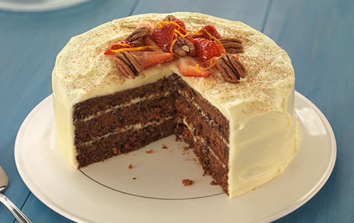 recipe image Cinnamon and Orange Carrot Cake