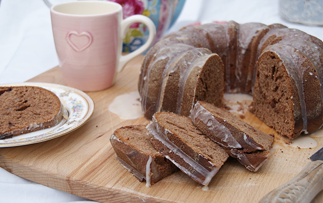 recipe image Chocolate Orange Pandoro
