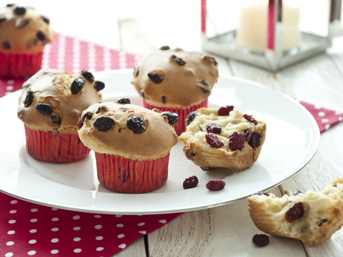 recipe image Christmas Cranberry Muffins
