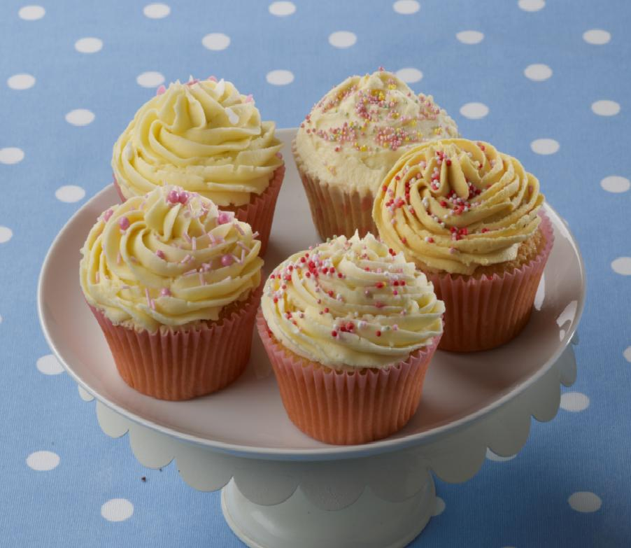recipe image Lemon Cupcakes