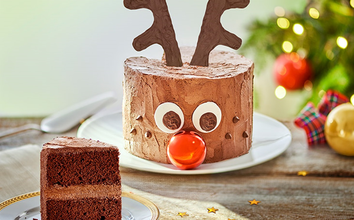 recipe image Chocolate Rudolph Cake