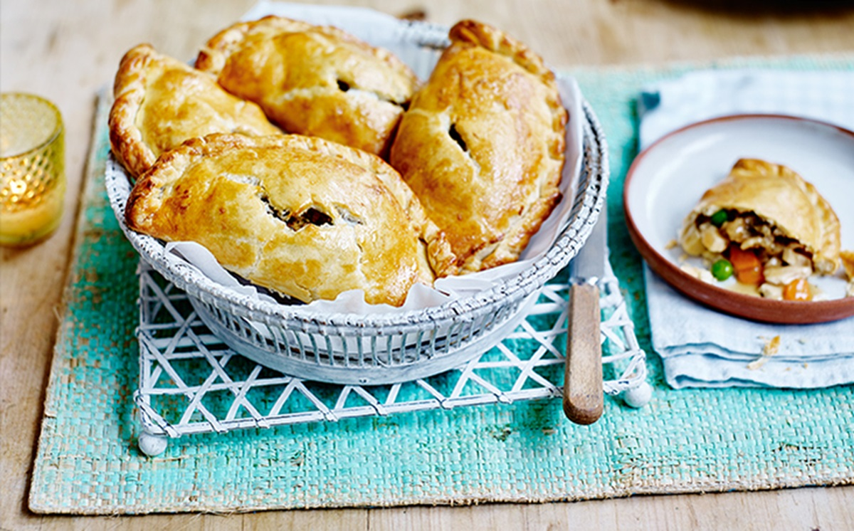 recipe image Sunday Roast Pasties