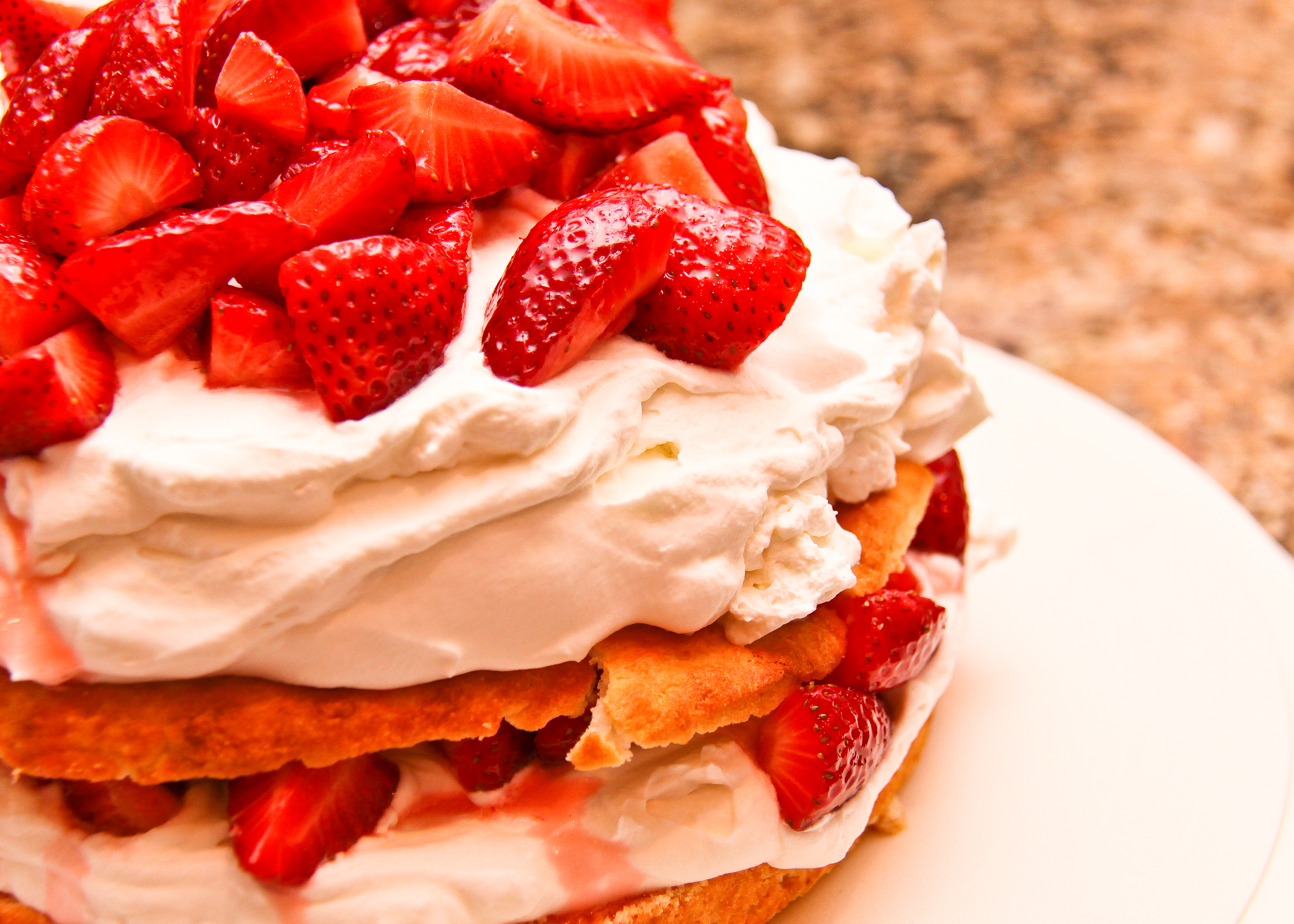 recipe image Dairy Free Strawberry Shortcake