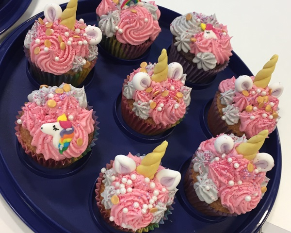 recipe image Unicorn Cupcakes