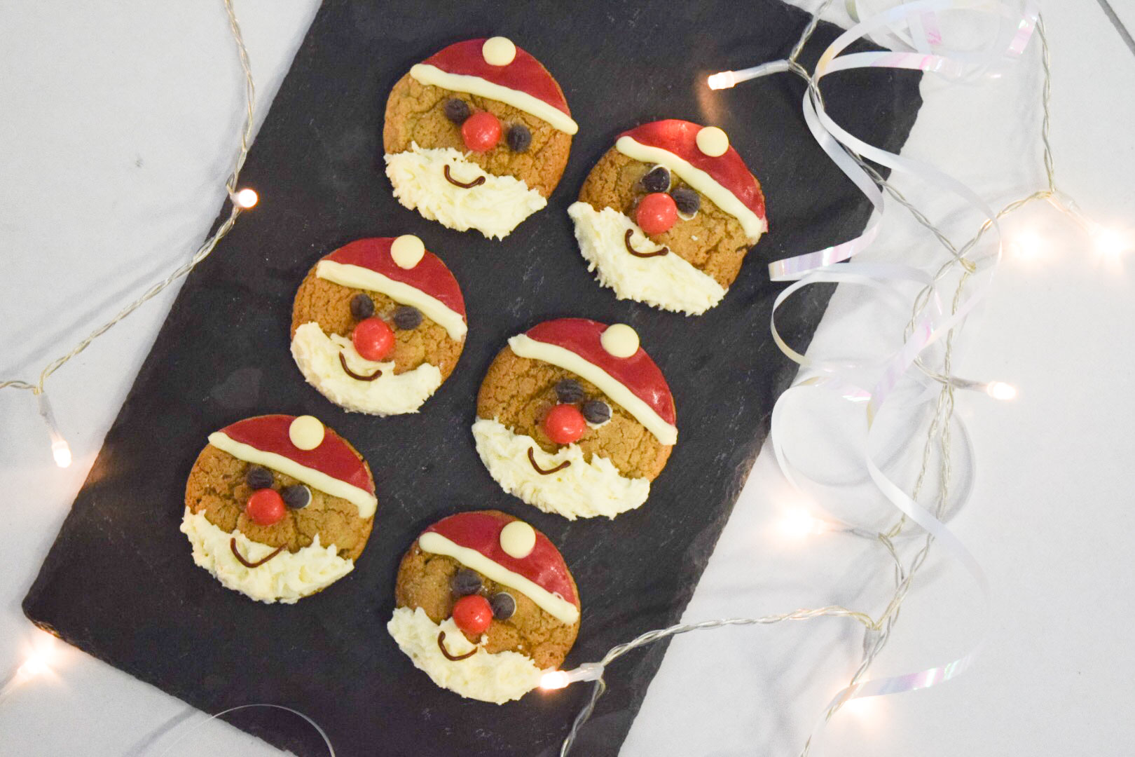 recipe image Father Christmas Chocolate Cookies