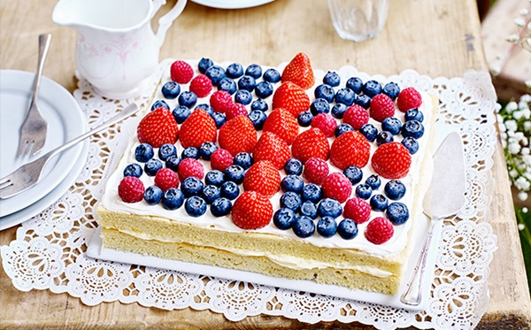 recipe image Union Jack Cake