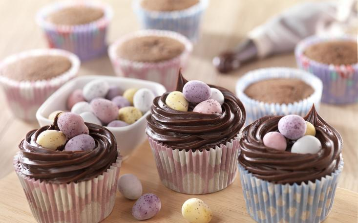 recipe image Gluten Free Easter Chocolate Cupcakes