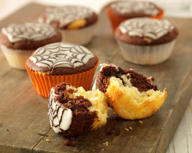 recipe image Halloween Pumpkin Cupcakes