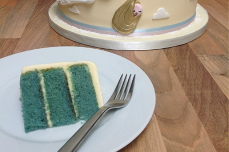recipe image Gender Reveal Cake Recipe | Royal Baby Celebration