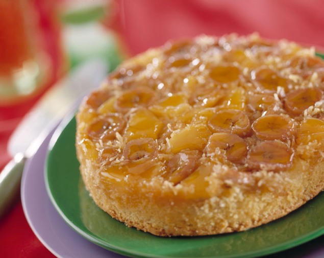 recipe image Caribbean Upside Down Cake