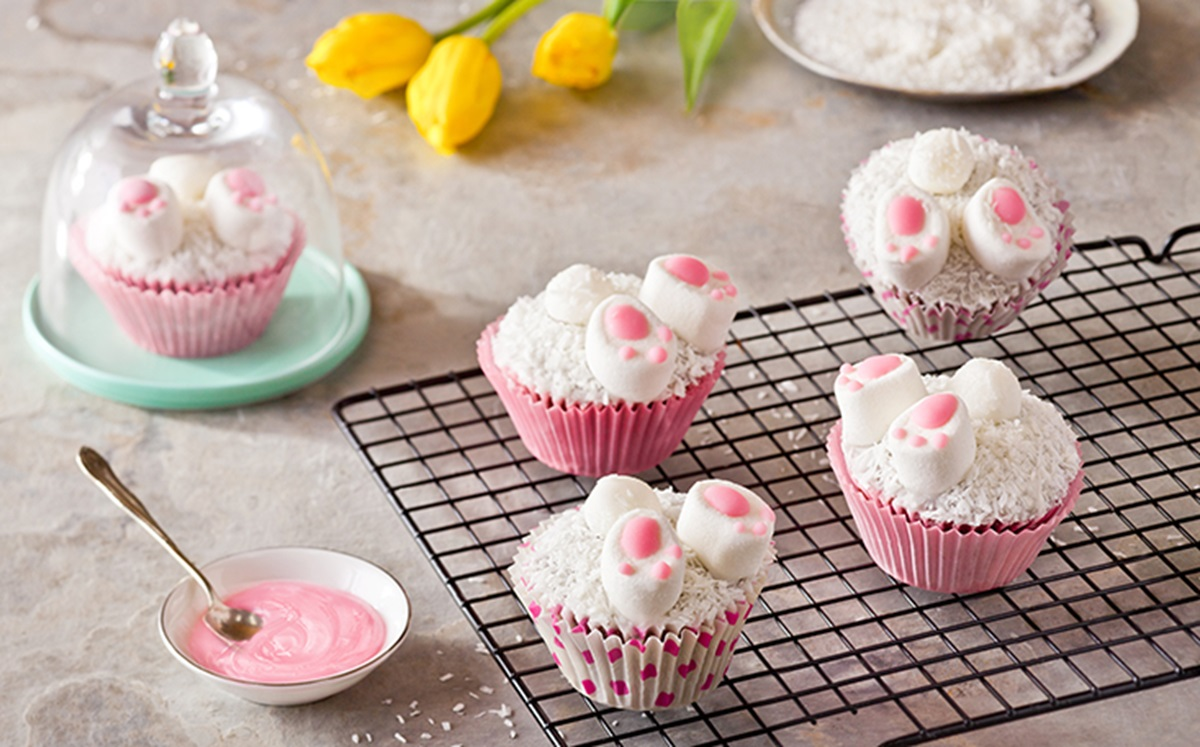 recipe image Gluten Free Easter Bunny Cupcakes