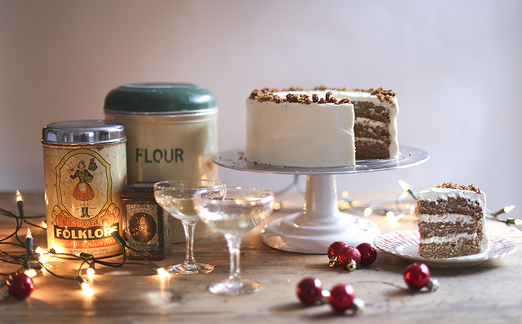 recipe image Egg Nog Cake